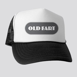 Old Fart - Gray Trucker Hat