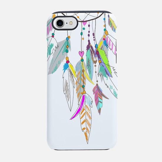 Dreamcatcher Feathers iPhone 8/7 Tough Case