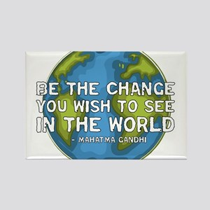 gandhi_earth_bethechange_dark Magnets