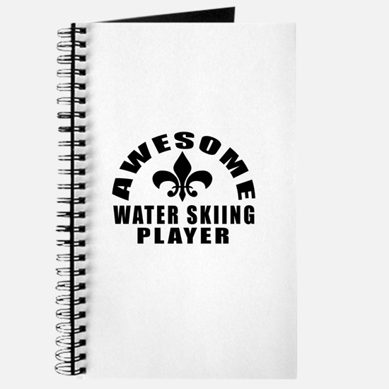 Awesome Water Skiing Player Designs Journal