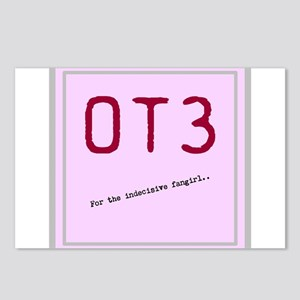 OT3 - For the indecisive fangirl Postcards (Packag