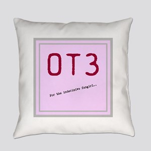 OT3 - For the indecisive fangirl Everyday Pillow