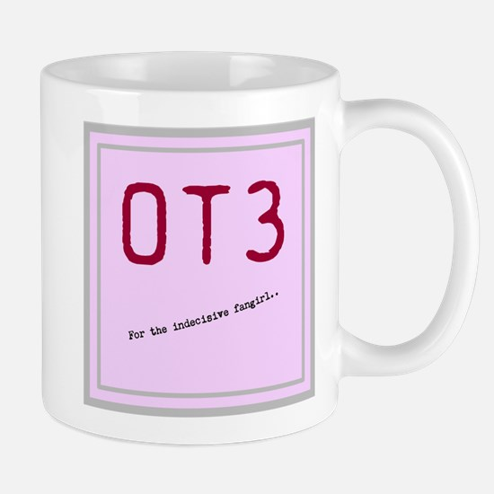OT3 - For the indecisive fangirl Mugs