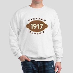 1917 Birth Year Birthday Sweatshirt