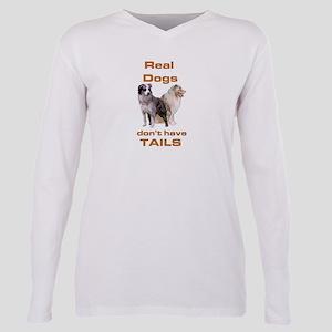 """Australian shepherd """"tails"""" Ash Grey T-Shirt"""