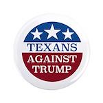 Texans Against Trump Button