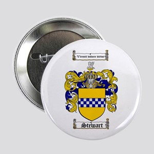 "Stewart Coat of Arms 2.25"" Button (100 pack)"