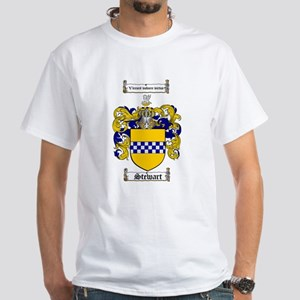 Stewart Coat of Arms White T-Shirt