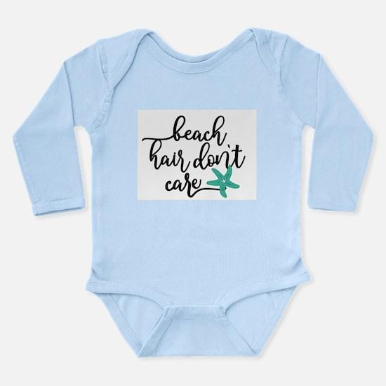 Cute Messy Long Sleeve Infant Bodysuit
