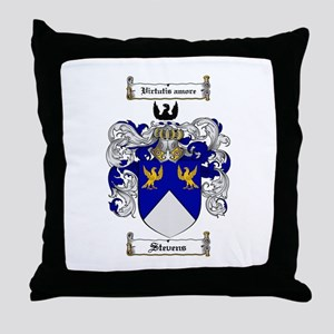 Stevens Coat of Arms Throw Pillow