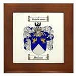 Stevens Coat of Arms Framed Tile