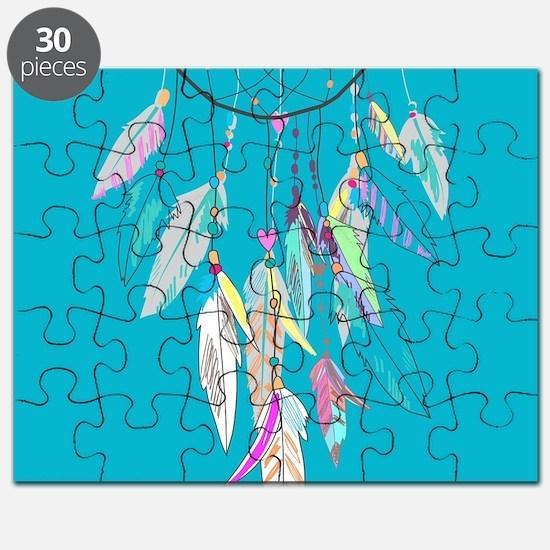 Dreamcatcher Feathers Puzzle
