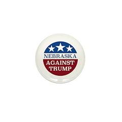 Nebraska Against Trump Mini Button