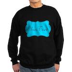 Personalizable Teal Black Sweatshirt