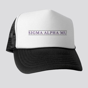 Sigma Alpha Mu Trucker Hat