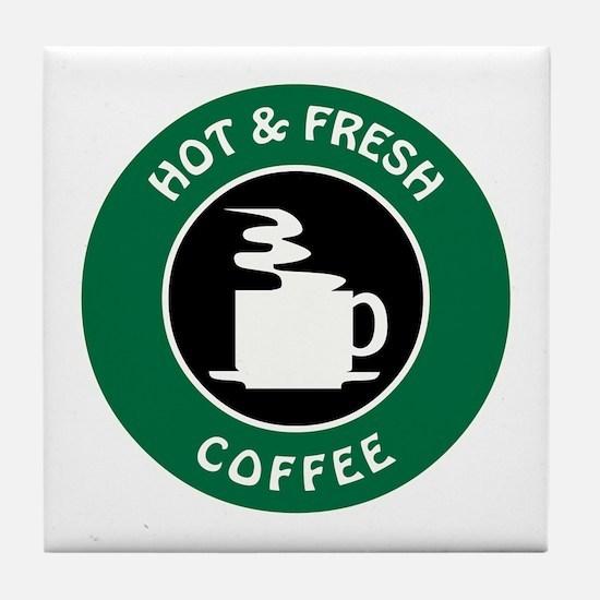 GIBBS COFFEE Tile Coaster