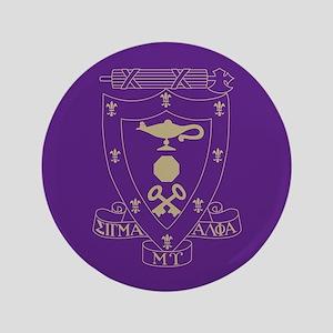 Sigma Alpha Mu Crest Button
