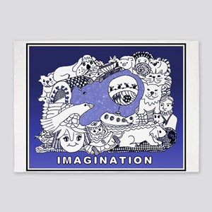 IMAGINATION 5'x7'Area Rug