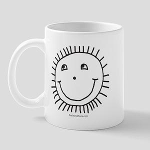 Rosie's Smiley Sun Mug