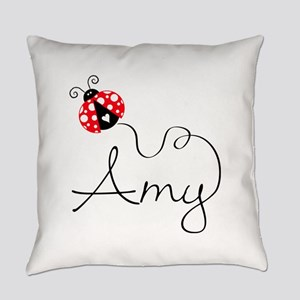 Ladybug Amy Everyday Pillow