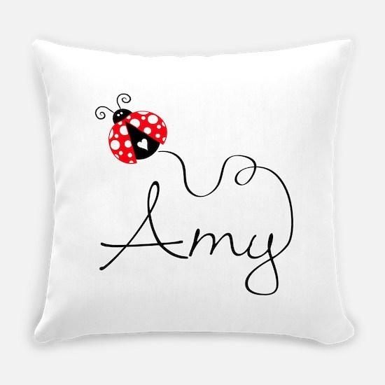 Ladybug Amy Everyday Pillow