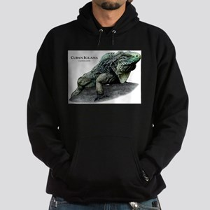 Cuban Iguana Hoodie (dark)