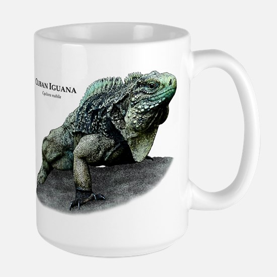 Cuban Iguana Large Mug