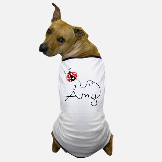 Ladybug Amy Dog T-Shirt