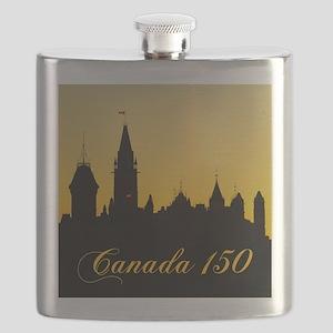 Parliament - Canada 150 Flask