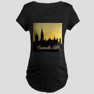 Parliament - Canada 150 Maternity T-Shirt