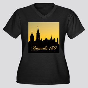 Parliament - Canada 150 Plus Size T-Shirt