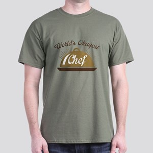 World's Okayest Chef Dark T-Shirt
