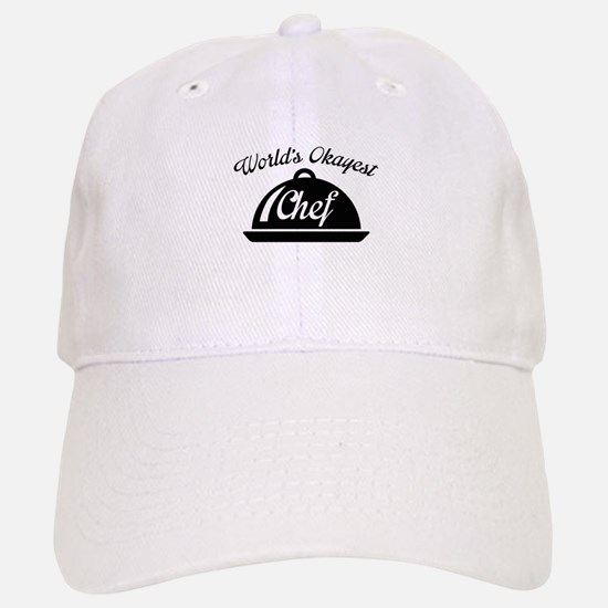 World's Okayest Chef Baseball Baseball Cap