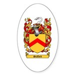 Stafford Coat of Arms Oval Sticker