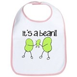 Its a bean Cotton Bibs