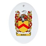 Stafford Coat of Arms Oval Ornament