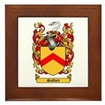 Stafford Coat of Arms Framed Tile