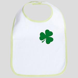 St Patrick's Day LOVE Shamrock Irish Baby Bib