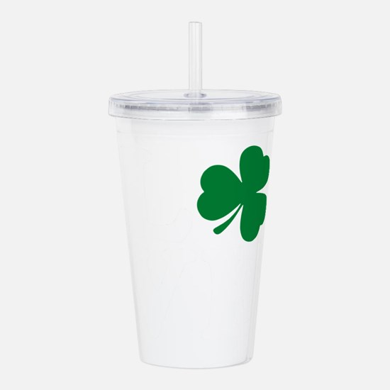 St Patrick's Day LOVE Acrylic Double-wall Tumbler