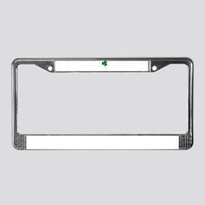 St Patrick's Day LOVE Shamrock License Plate Frame