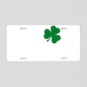 St Patrick's Day LOVE Shamr Aluminum License Plate