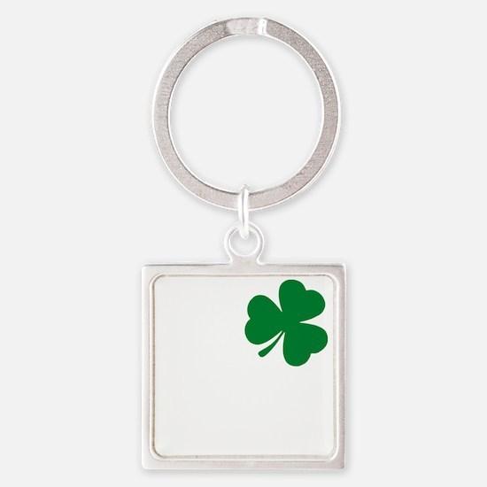 St Patrick's Day LOVE Shamrock Irish Keychains