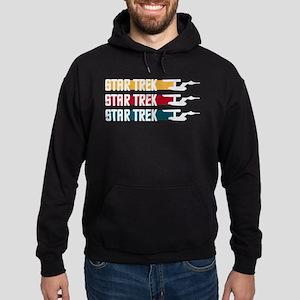 Star Trek Stripes Hoodie Sweatshirt