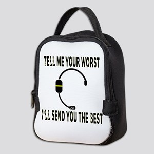 911 Dispatcher Neoprene Lunch Bag