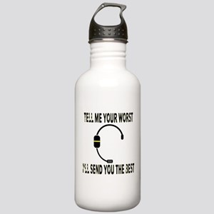 911 Dispatcher Water Bottle
