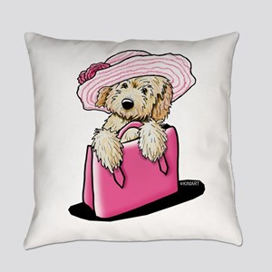 Girlie Doodle Everyday Pillow