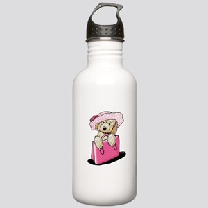 Girlie Doodle Stainless Water Bottle 1.0L