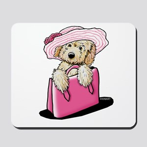 Girlie Doodle Mousepad