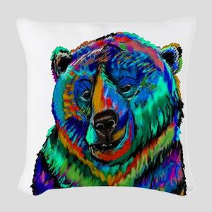 BEAR Woven Throw Pillow