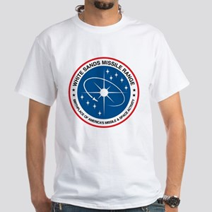 White Sands Missile Range White T-Shirt